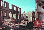 Image of bomb damaged building Wurzburg Germany, 1945, second 50 stock footage video 65675063593