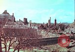 Image of bomb damaged building Wurzburg Germany, 1945, second 52 stock footage video 65675063593