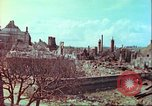 Image of bomb damaged building Wurzburg Germany, 1945, second 53 stock footage video 65675063593