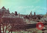 Image of bomb damaged building Wurzburg Germany, 1945, second 54 stock footage video 65675063593