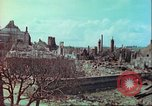 Image of bomb damaged building Wurzburg Germany, 1945, second 55 stock footage video 65675063593