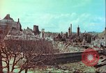 Image of bomb damaged building Wurzburg Germany, 1945, second 57 stock footage video 65675063593