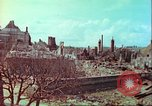 Image of bomb damaged building Wurzburg Germany, 1945, second 58 stock footage video 65675063593