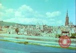 Image of bomb damaged building Wurzburg Germany, 1945, second 60 stock footage video 65675063593