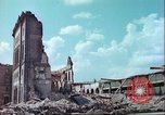 Image of bomb damaged buildings Germany, 1945, second 3 stock footage video 65675063596