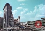 Image of bomb damaged buildings Germany, 1945, second 4 stock footage video 65675063596