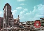 Image of bomb damaged buildings Germany, 1945, second 6 stock footage video 65675063596
