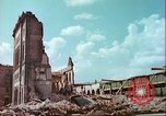 Image of bomb damaged buildings Germany, 1945, second 8 stock footage video 65675063596