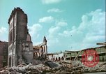 Image of bomb damaged buildings Germany, 1945, second 9 stock footage video 65675063596