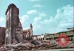Image of bomb damaged buildings Germany, 1945, second 13 stock footage video 65675063596