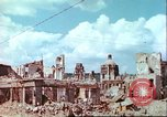 Image of bomb damaged buildings Germany, 1945, second 26 stock footage video 65675063596