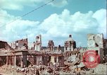 Image of bomb damaged buildings Germany, 1945, second 27 stock footage video 65675063596