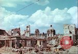 Image of bomb damaged buildings Germany, 1945, second 28 stock footage video 65675063596