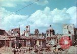 Image of bomb damaged buildings Germany, 1945, second 29 stock footage video 65675063596