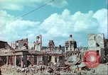 Image of bomb damaged buildings Germany, 1945, second 32 stock footage video 65675063596