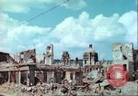 Image of bomb damaged buildings Germany, 1945, second 33 stock footage video 65675063596
