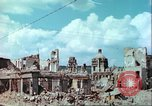 Image of bomb damaged buildings Germany, 1945, second 34 stock footage video 65675063596