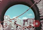 Image of bomb damaged buildings Germany, 1945, second 39 stock footage video 65675063596
