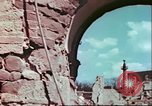 Image of bomb damaged buildings Germany, 1945, second 43 stock footage video 65675063596