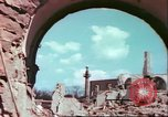 Image of bomb damaged buildings Germany, 1945, second 44 stock footage video 65675063596