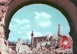 Image of bomb damaged buildings Germany, 1945, second 46 stock footage video 65675063596