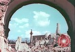 Image of bomb damaged buildings Germany, 1945, second 49 stock footage video 65675063596