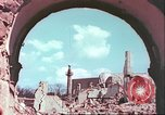Image of bomb damaged buildings Germany, 1945, second 50 stock footage video 65675063596