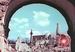Image of bomb damaged buildings Germany, 1945, second 53 stock footage video 65675063596