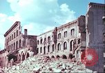 Image of bomb damaged buildings Germany, 1945, second 54 stock footage video 65675063596