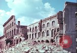 Image of bomb damaged buildings Germany, 1945, second 55 stock footage video 65675063596