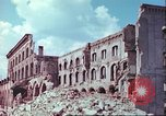 Image of bomb damaged buildings Germany, 1945, second 56 stock footage video 65675063596