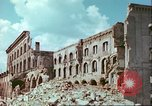 Image of bomb damaged buildings Germany, 1945, second 59 stock footage video 65675063596