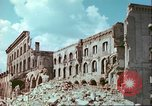 Image of bomb damaged buildings Germany, 1945, second 62 stock footage video 65675063596