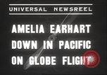 Image of Amelia Earhart Putnam South Pacific Ocean, 1937, second 3 stock footage video 65675063620