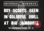 Image of American boy scouts Washington DC USA, 1937, second 7 stock footage video 65675063623