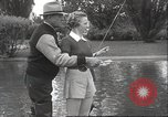 Image of angling course Eugene Oregon USA, 1937, second 22 stock footage video 65675063624