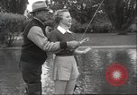 Image of angling course Eugene Oregon USA, 1937, second 24 stock footage video 65675063624