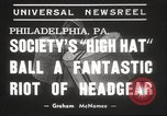 Image of High Hat Competition Philadelphia Pennsylvania USA, 1939, second 2 stock footage video 65675063629