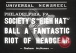 Image of High Hat Competition Philadelphia Pennsylvania USA, 1939, second 4 stock footage video 65675063629