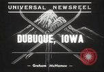 Image of Skiing Tri State Meet Dubuque Iowa USA, 1939, second 7 stock footage video 65675063630