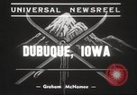 Image of Skiing Tri State Meet Dubuque Iowa USA, 1939, second 8 stock footage video 65675063630