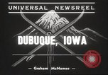 Image of Skiing Tri State Meet Dubuque Iowa USA, 1939, second 9 stock footage video 65675063630