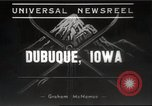 Image of Skiing Tri State Meet Dubuque Iowa USA, 1939, second 10 stock footage video 65675063630