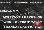 Image of Captain James A Mollison Mineola New York USA, 1932, second 1 stock footage video 65675063634