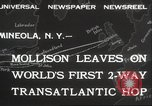 Image of Captain James A Mollison Mineola New York USA, 1932, second 9 stock footage video 65675063634