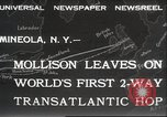 Image of Captain James A Mollison Mineola New York USA, 1932, second 12 stock footage video 65675063634