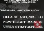 Image of Jacques Piccard Dubendorf Switzerland, 1932, second 3 stock footage video 65675063636