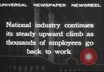 Image of American workers United States USA, 1932, second 27 stock footage video 65675063637