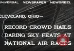 Image of National Air Race Cleveland Ohio USA, 1932, second 1 stock footage video 65675063638