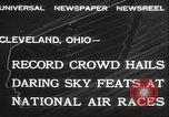 Image of National Air Race Cleveland Ohio USA, 1932, second 5 stock footage video 65675063638